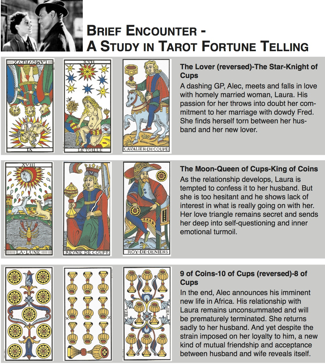 FORTUNE-TELLING WITH THE TAROT – YES OR NO? – Destiny Clemens ARTICLES